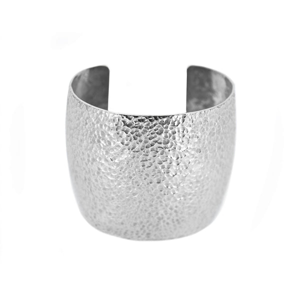 Martillado Cuff in Sterling Silver