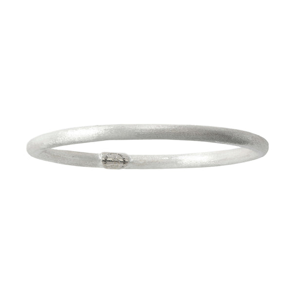 Textura Bangle in Sterling Silver