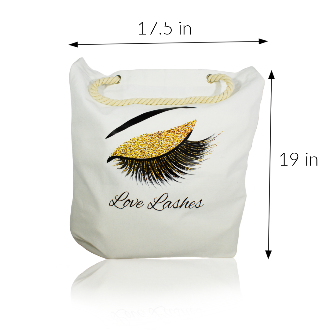 Love Lashes Tote Bag
