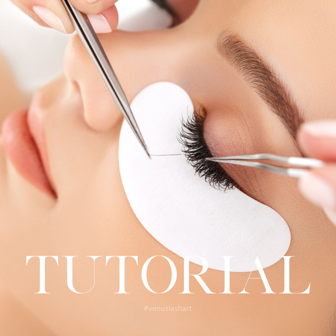 HOW TO PREPARE NATURAL LASHES