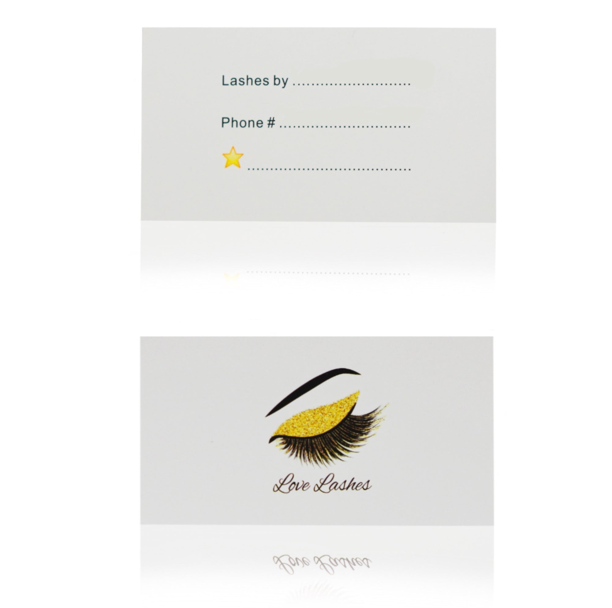 Love Lashes Business Cards