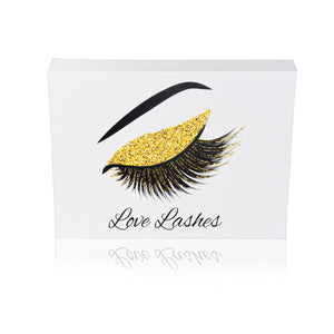 Love Lashes Canvas