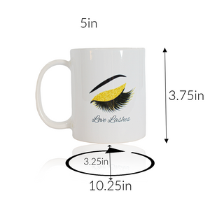 Love Lashes Mug