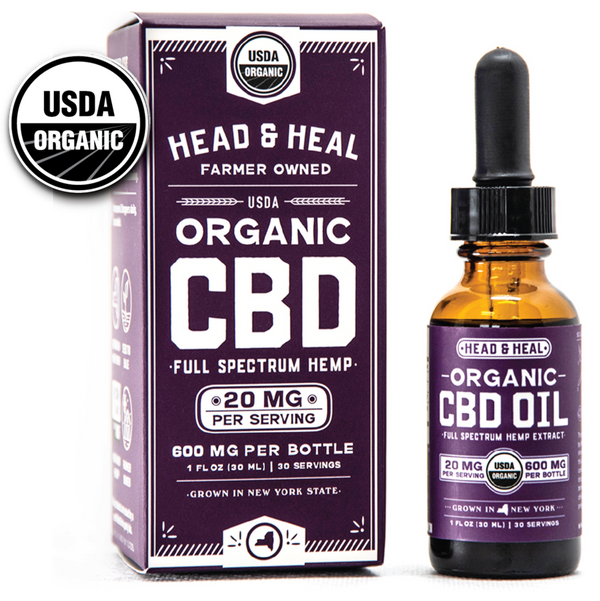 HEAD & HEAL  |  FUll Spectrum CBD Oil   | 600mg