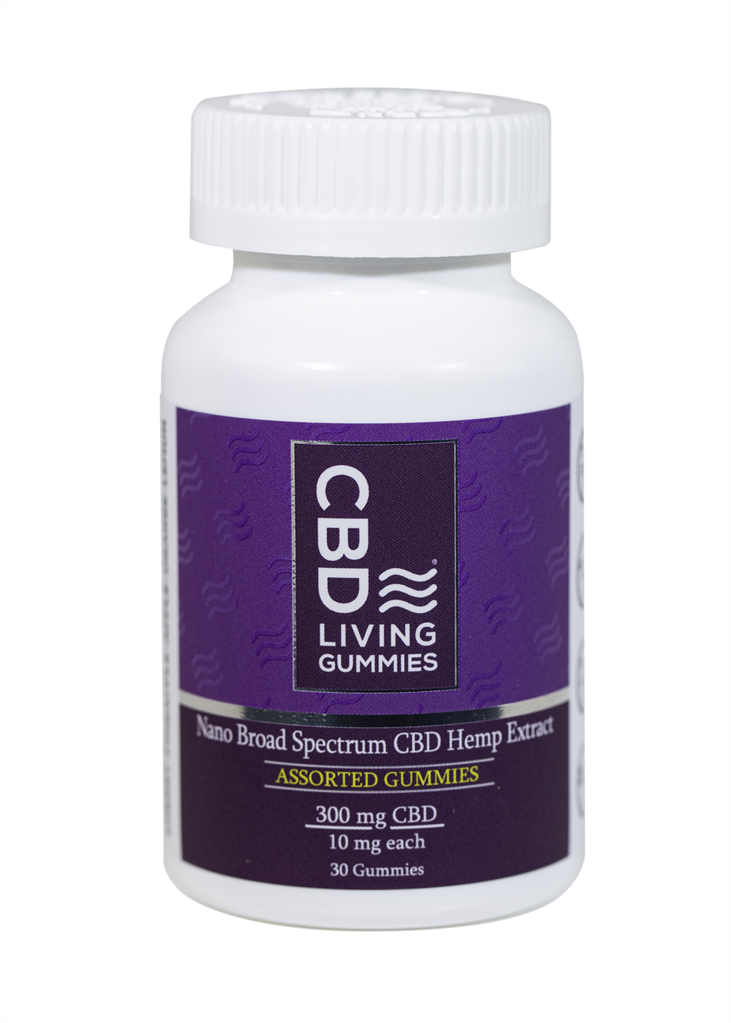 CBD Living Gummies - 30pc  300mg