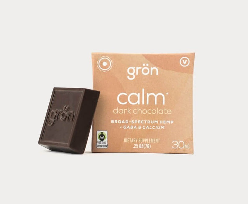 GRON - Calm - Adaptogenic Dark Chocolate - 30mg