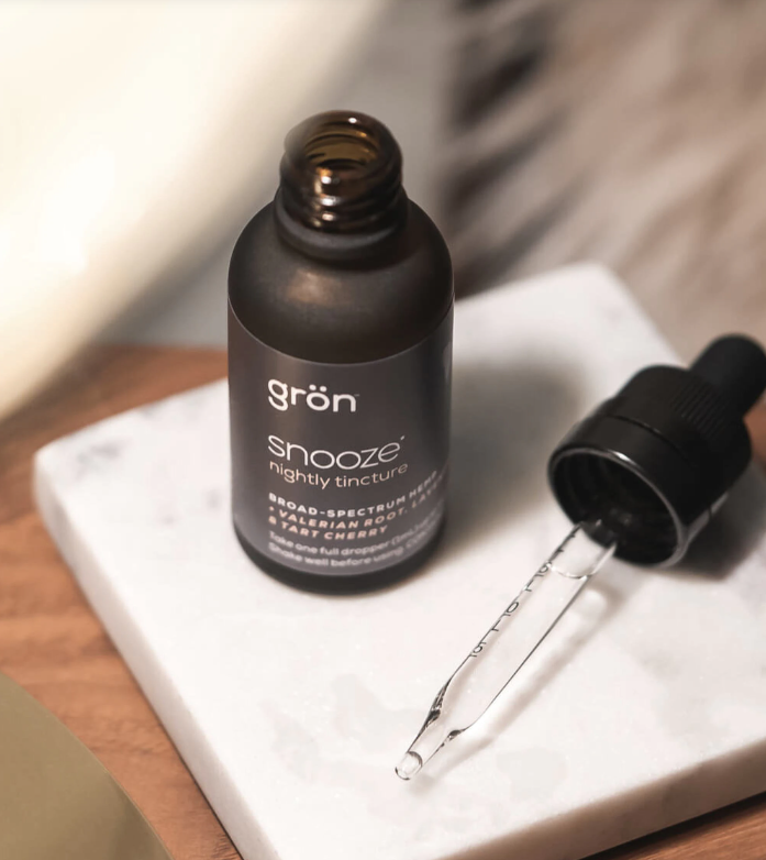 GRON Snooze Nightly Tincture - Broad Spectrum CBD Oil - 1500mg
