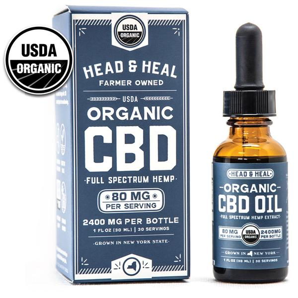 HEAD & HEAL  |  FUll Spectrum CBD Oil   | 2400mg