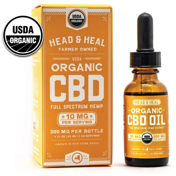 HEAD & HEAL | FULL SPECTRUM CBD OIL | 300MG