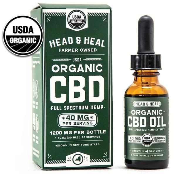 HEAD & HEAL  |  FUll Spectrum CBD Oil   | 1200mg