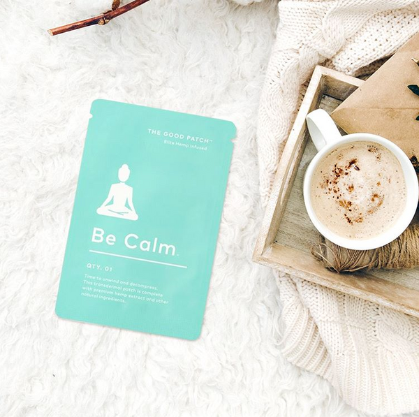 la Mend - Hemp Infused Patch - Be Calm  15mg