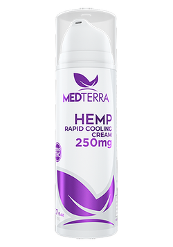 Medterra Hemp Rapid Cooling Cream - 1.7oz - 250mg
