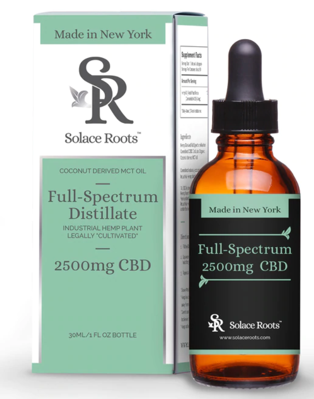 Solace Roots - Full Spectrum Distillate - 1oz 2500mg
