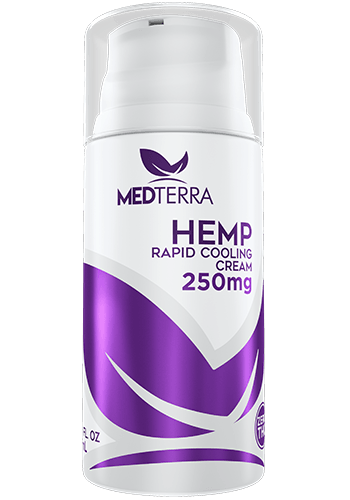 MedTerra - CBD Rapid Cooling Cream - 3.4 fl oz  250mg
