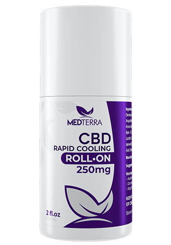 MedTerra - CBD Rapid Cooling Roll On - 2 oz  250mg