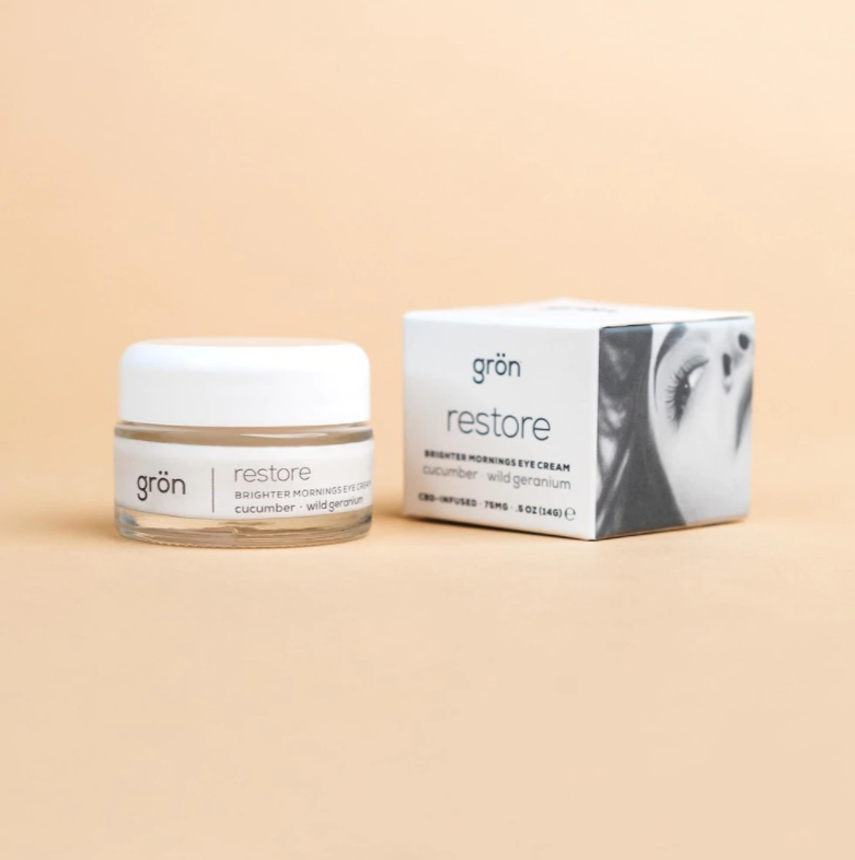 GRӦN Restore | Brighter Mornings Eye Cream | 75mg