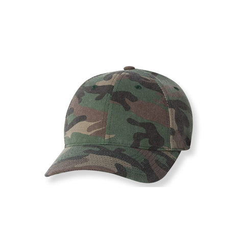 Camo Fitted Baseball Hat