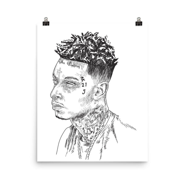 21 Savage mode Art Poster (6 sizes) // Babes & Gents // www.babesngents.com