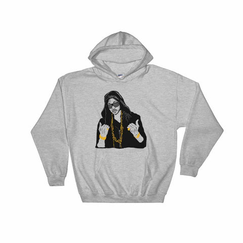 2 Chainz Grey Hoodie Sweater (Unisex)