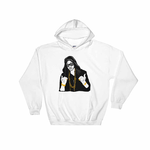 2 Chainz White Hoodie Sweater (Unisex), Babes & Gents, Ottawa