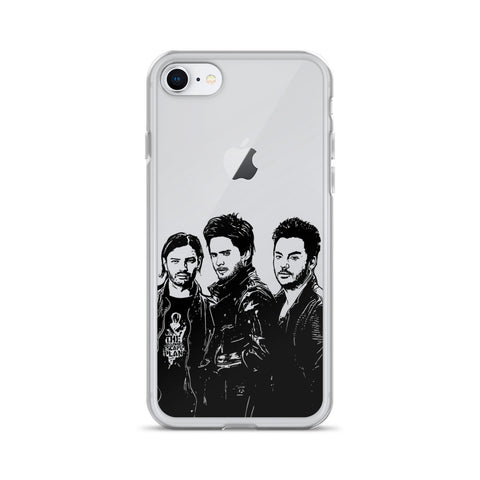 30 seconds to mars Apple IPhone Case
