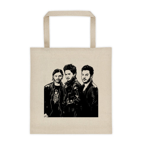 30 SECONDS TO MARS Canvas Tote Bag