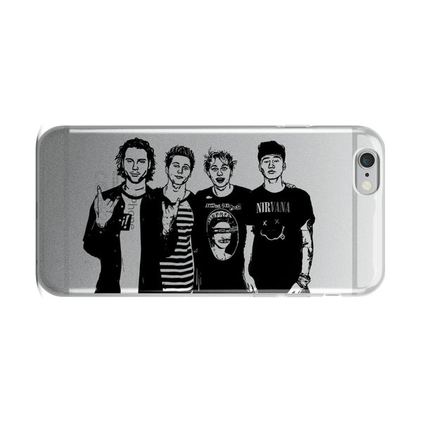 5 Seconds of Summer Apple IPhone Case  // Babes & Gents // www.babesngents.com