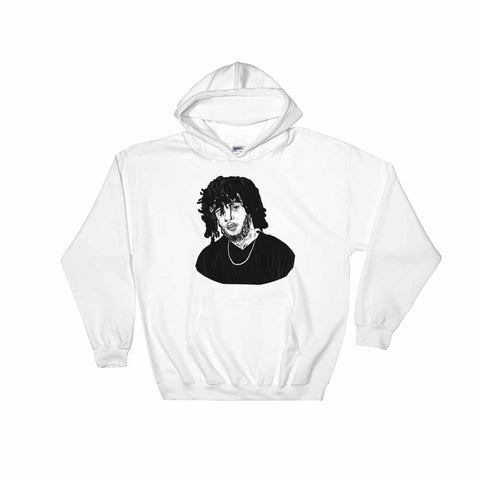 6lack White Hoodie Sweater (Unisex)