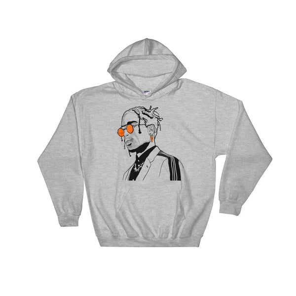 A$AP ASAP Rocky Vlone Grey Hoodie Sweater (Unisex), Babes & Gents, Ottawa