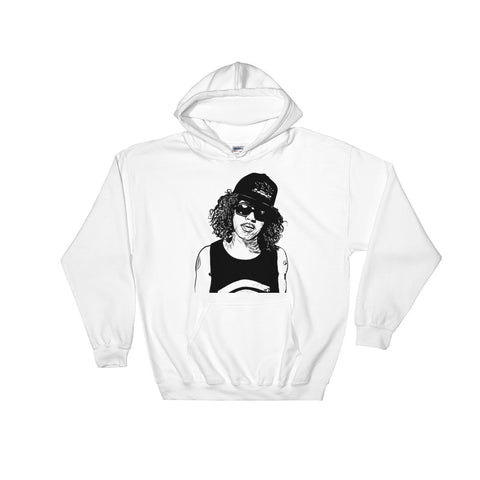 AB-SOUL AB SOUL White Hoodie Sweater (Unisex)