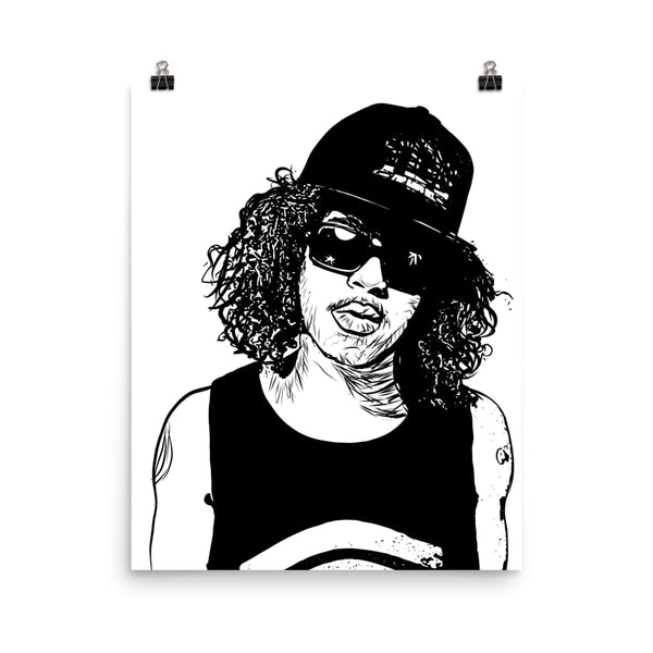 AB-SOUL AB SOUL Art Poster (6 sizes) // Babes & Gents // www.babesngents.com