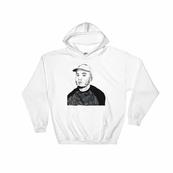 Anderson .Paak White Hoodie Sweater (Unisex), Babes & Gents, Ottawa
