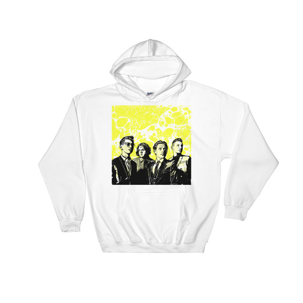 Arctic Monkeys White Hoodie Sweater (Unisex), Babes & Gents, Ottawa