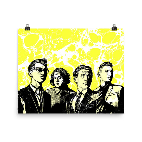 Arctic Monkeys 11x17 Art Poster