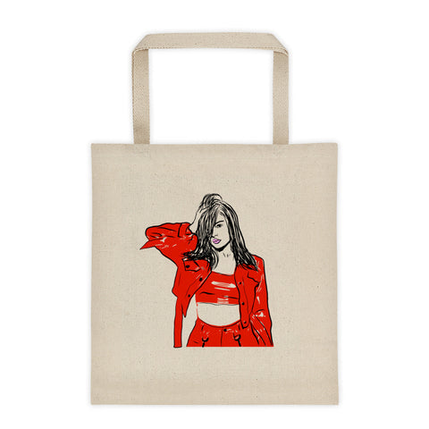 Bebe Rexha Canvas Tote Bag