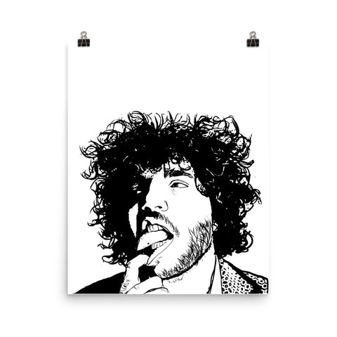 Benny Blanco Art Poster (8x10 to 24x36)