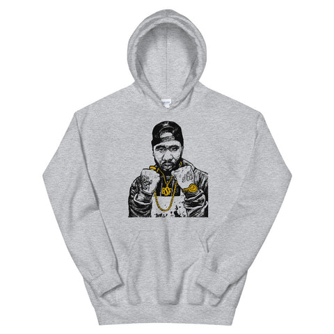 Benny the Butcher Grey Hoodie Sweater (Unisex)