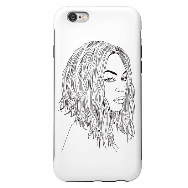 Beyonce Apple IPhone 4 5 5s 6 6s Plus Galaxy Case // Flawless // I woke up like this // Babes & Gents // www.babesngents.com