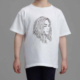 Beyonce Kids White Tee (Unisex) // Flawless // I woke up like this // Babes & Gents // www.babesngents.com