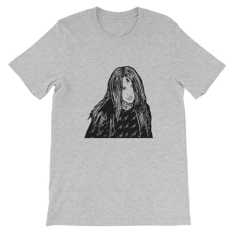 Billie Eilish Grey Tee (Unisex)
