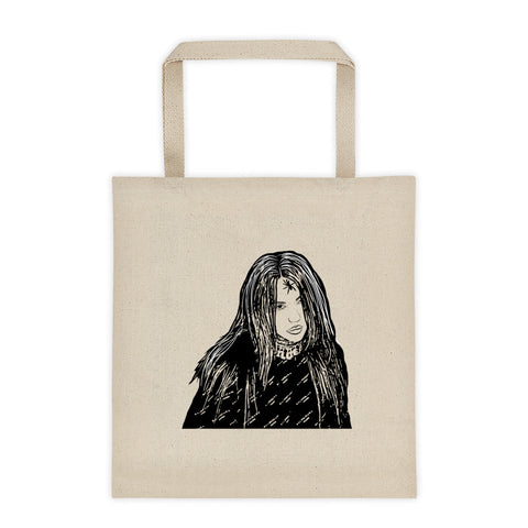 Billie Eilish Canvas Tote Bag