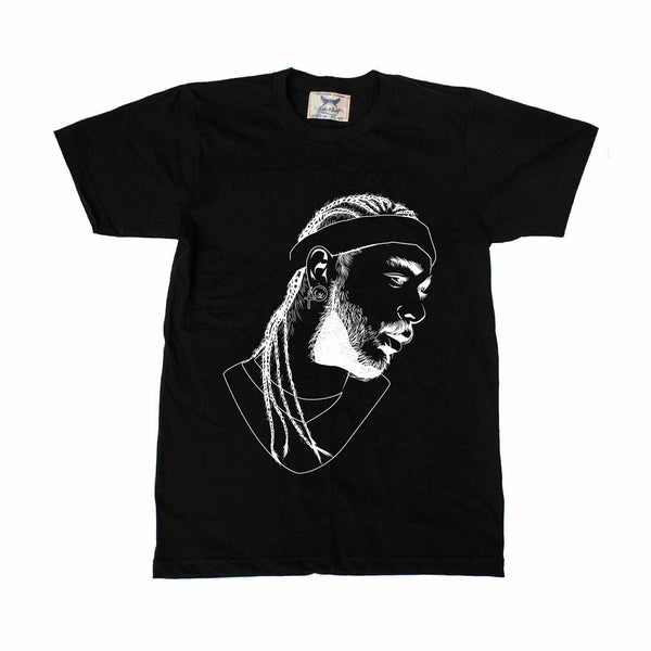 Post Malone White Iverson Stoney Black Tee (Unisex) // T-shirt // Babes & Gents // www.babesngents.com