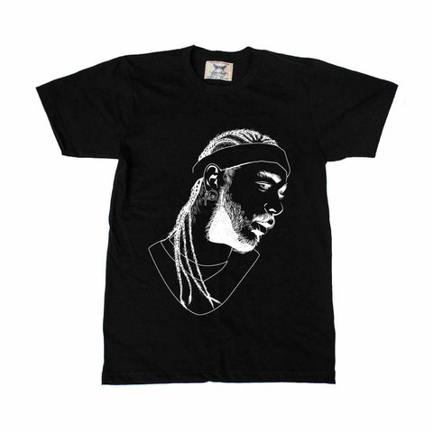 Post Malone White Iverson Stoney Black Tee (Unisex)