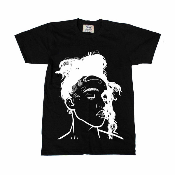 FKA Twigs Black Tee // M3LL155X LP1 British // Babes & Gents // www.babesngents.com