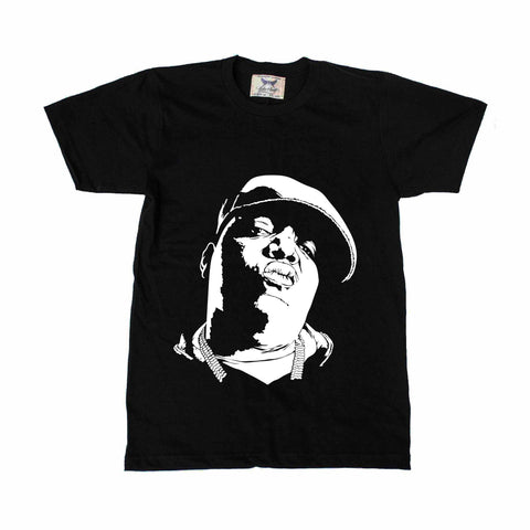 Notorious B.I.G Biggie Smalls Black Tee (Unisex)