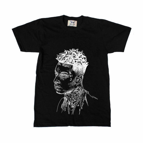 21 Savage Mode Black Tee (Unisex)