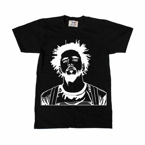 J. Cole Black Tee // Jcole dreamville coleworld