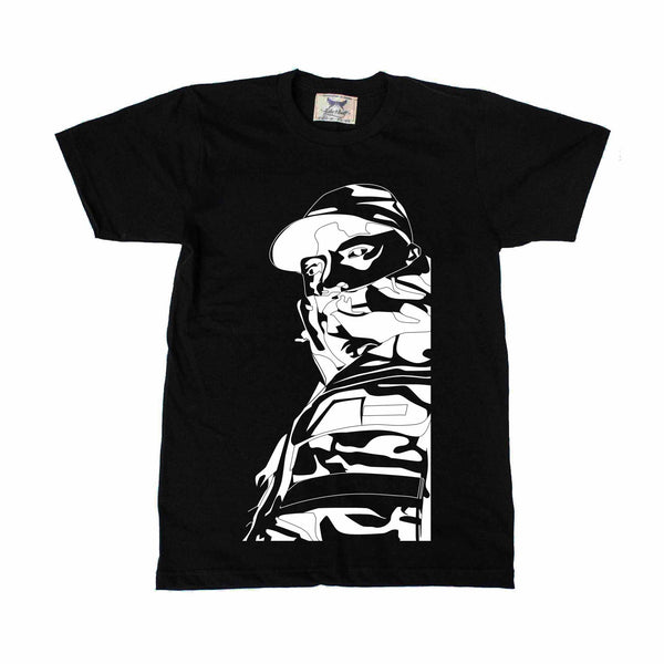 Skepta Black Tee // Grime shutdown topboy thats not me Konnichiwa London // Babes & Gents // www.babesngents.com