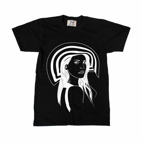Lana Del Rey Honeymoon Black Tee // Born to Die Unique Artsy Design