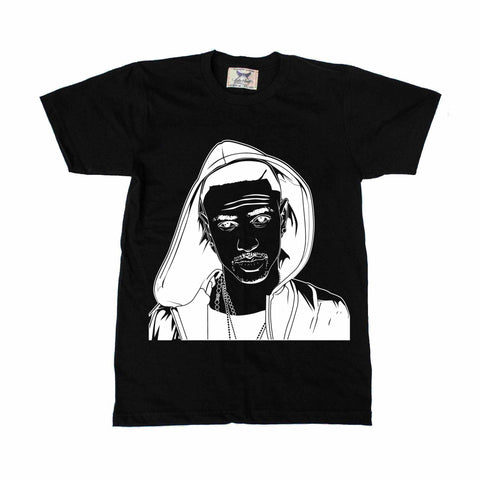 Big Sean Black Tee // IDFWU Blessings Dark Sky Paradise
